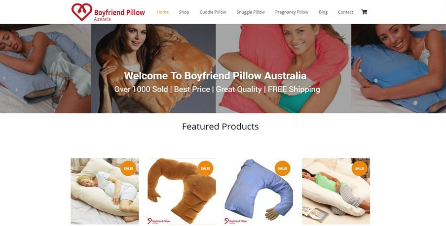 Pregnancy Pillow Australia