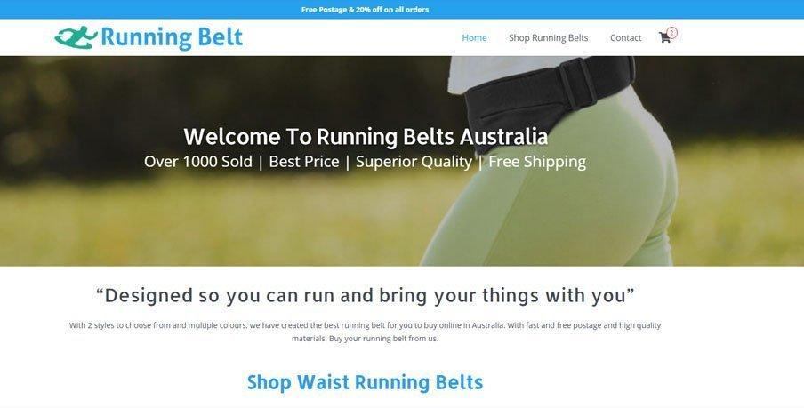 running belts australia